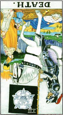 Death Reversed Tarot Card Meaning - Major Arcana