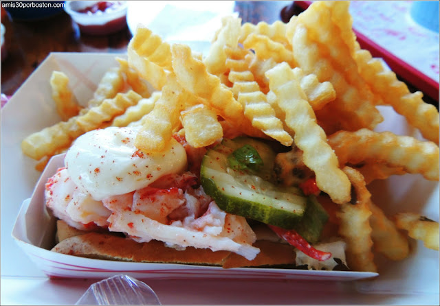 The Lobster Shack en Two Lights: Lobster Roll