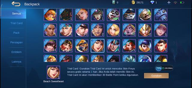 cara mendapatkan skin gratis mobile legend