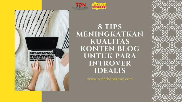 konten blog introver idealis