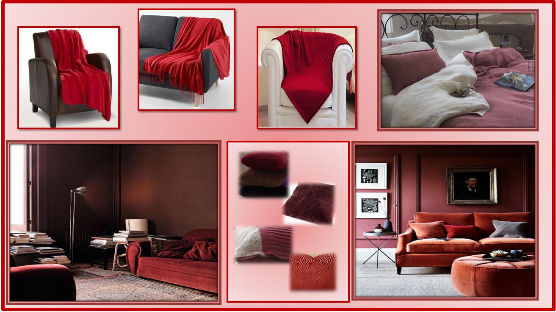 Come Abbellire Un Divano gena design: colore del mese rooso melograno