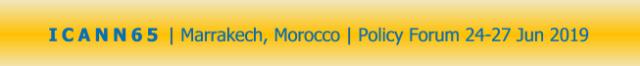 ICANN65 | Marrakech