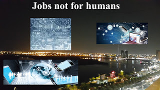 Jobs not for humans