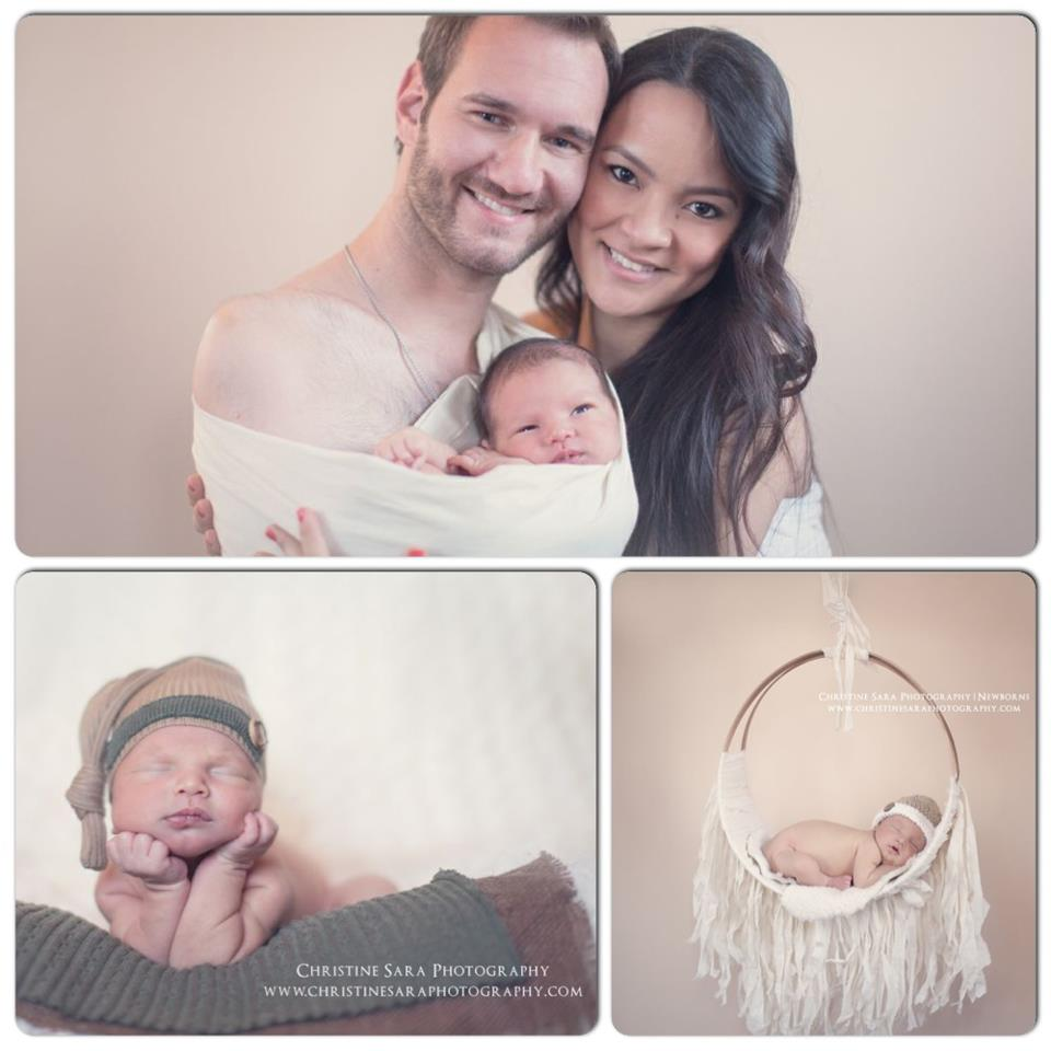 Nick Vujicic welcomes baby son | Christian News on ...