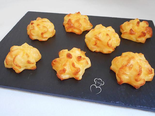 Patatas duquesa crujientes al horno