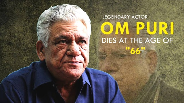 Veteran actor Om Puri has passed away due to a massive heart attack