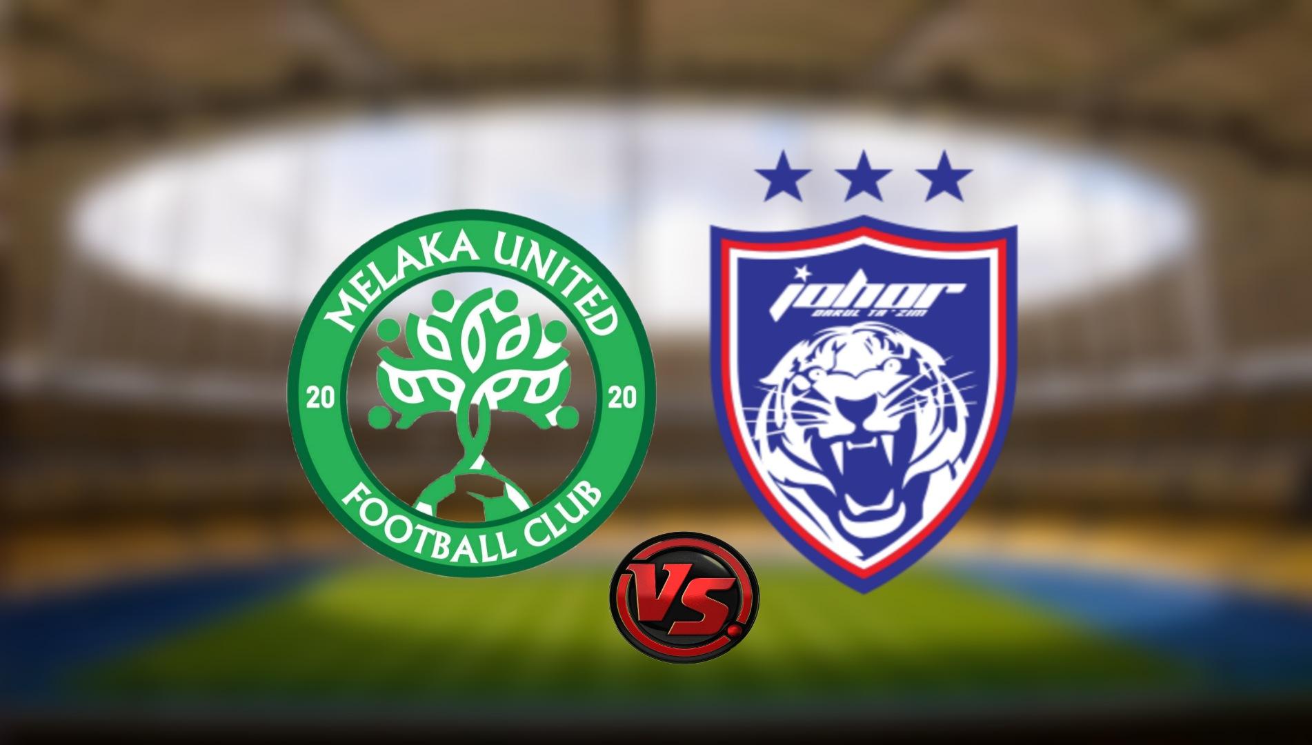 Live Streaming Melaka United vs JDT FC Liga Super 3.8.2021