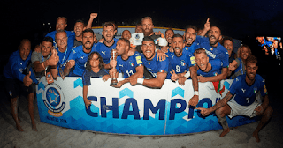 FÚTBOL PLAYA - Euro Beach Soccer League 2018: España acaba invicta en la Superfinal pero los penaltis dan el segundo título a Italia