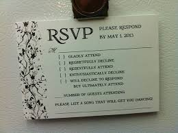 Wedding Invitation And Rsvp Packages