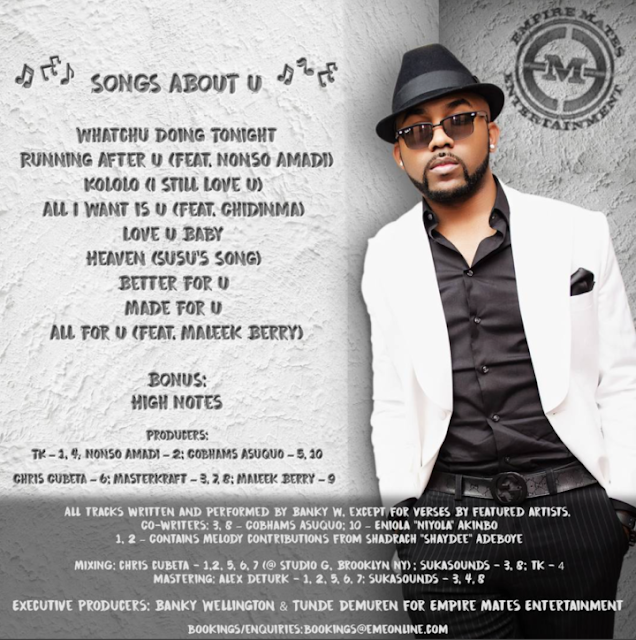 Banky-w-new-playlist-songs-about-u
