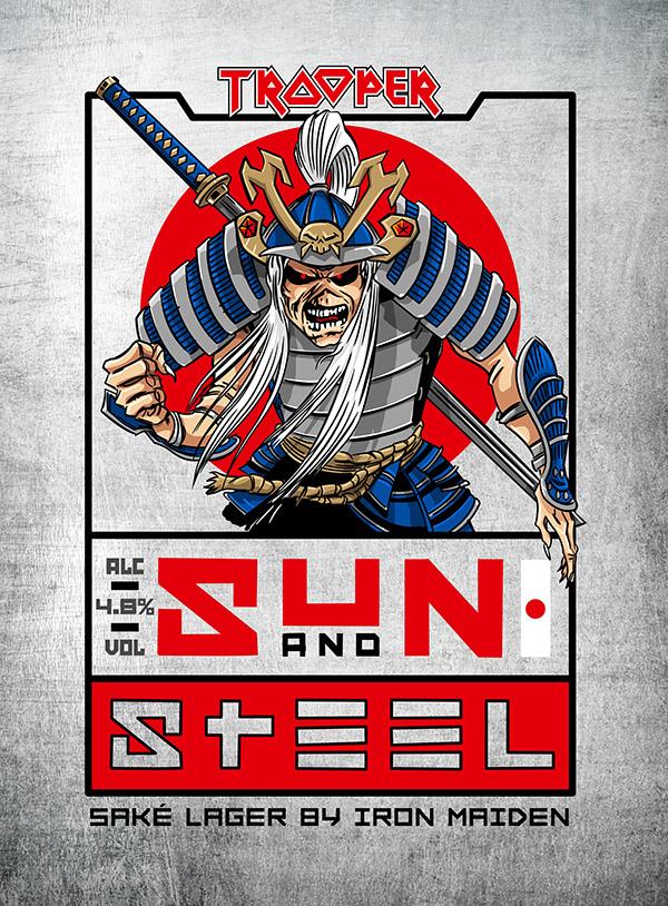 Sun And Steel: Iron Maiden lança cerveja de saquê