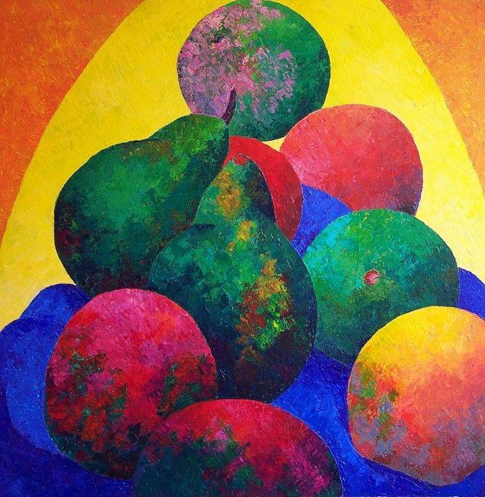 Яркие цвета. Stephen Conroy