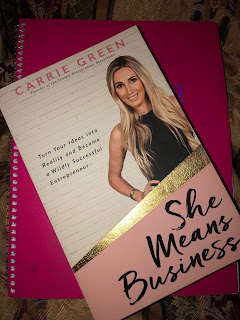she means business by carrie green book