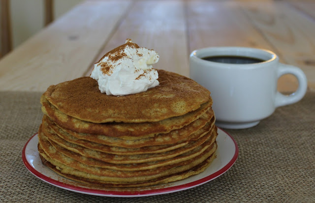 Cinnamon Low Carb Pancakes