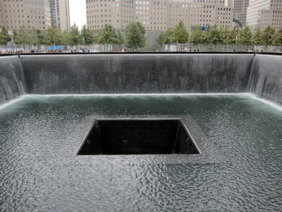 911 Memorial Waterfalls