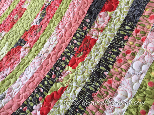http://carrieontheprairie.blogspot.ca/2017/05/renees-peony-strip-quilt.html