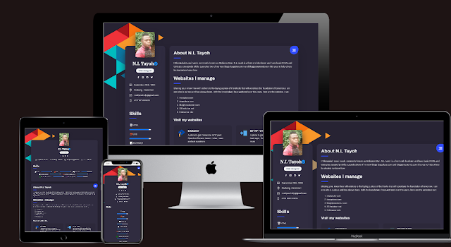 Download Profile Page Remod by N.L Tayoh - Responsive Blogger Template
