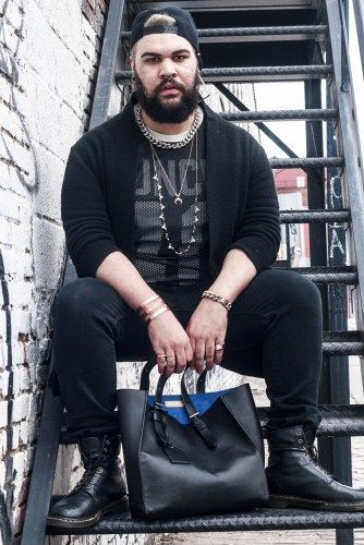 Look Masculino Plus Size All Black