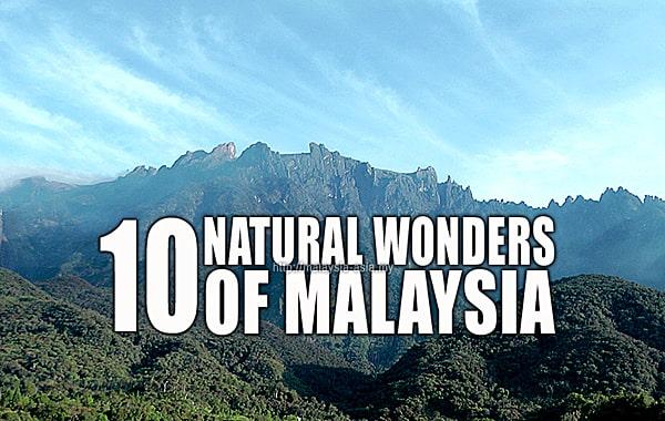 Malaysia Natural Wonders