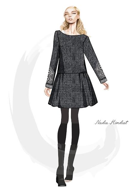 Платье. Модель PL-322