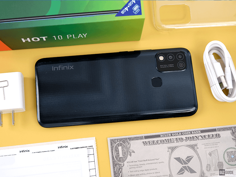 Upgraded Infinix HOT 10 PLAY with 4G/64GB memory config arrives in PH!