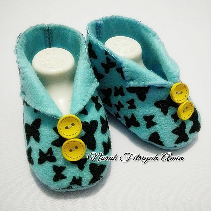 Tutorial Membuat Sepatu Bayi Flanel