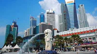 Pertumbuhan Ekonomi Singapura, Surga Pajak RI Yang Terpukul Resesi Ekonomi