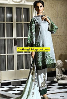 Ittehad Fall/Winter Embroidered Linen 2016 Vol 1