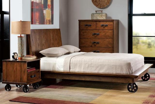 Industrial Loft Bed