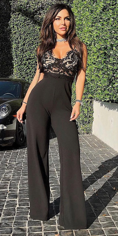 jumpsuit black | From stylish jumpsuit to colorful jumpsuit, onepiece jumpsuit to strapless jumpsuit. Find 44 Insanely Cute Jumpsuit Outfits to Try Before Anyone in 2019. Jumpsuit Fashion and jumpsuit dress via higiggle.com #jumpsuit #outfits #style #fashion