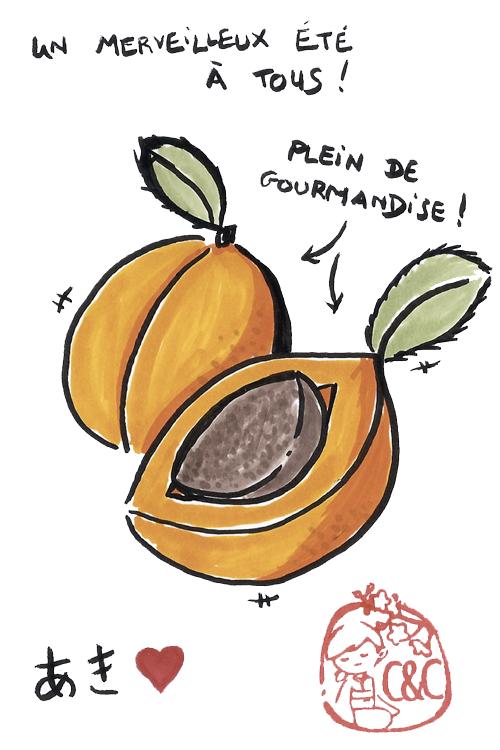 Etegami abricots