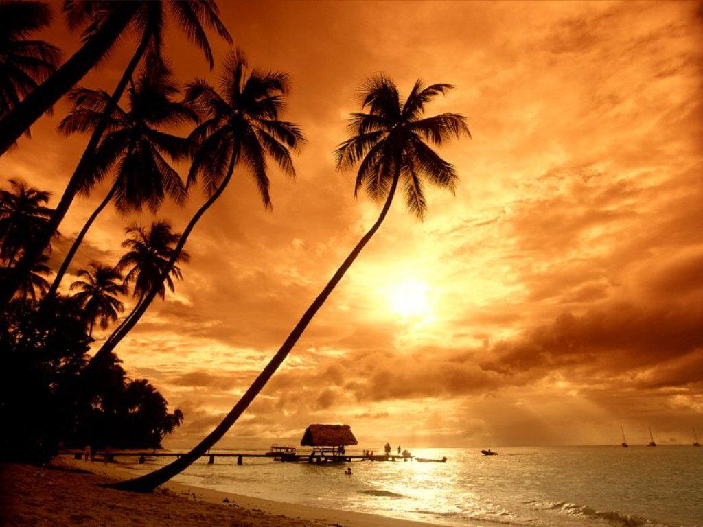 Foto Gambar Sunset Matahari Tenggelam Terindah Freewaremini