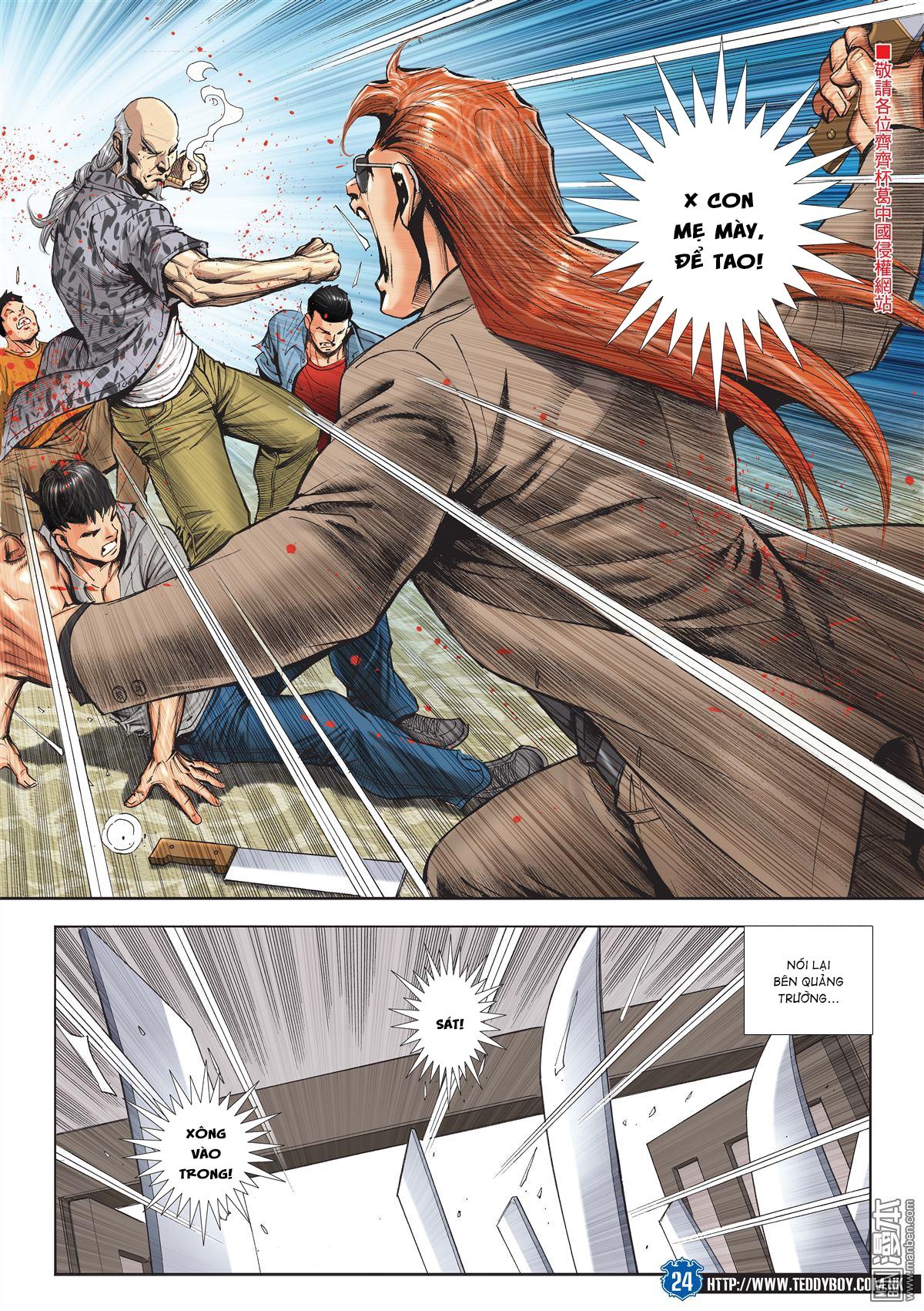 Người Trong Giang Hồ chapter 2026: khí diệm tông sư trang 23