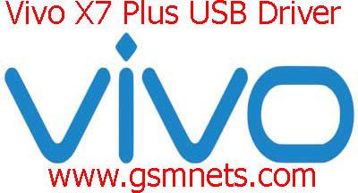 Vivo X7 Plus USB Driver