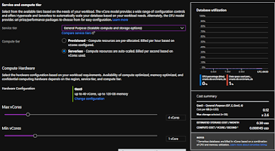 Azure SQL DB Serverless