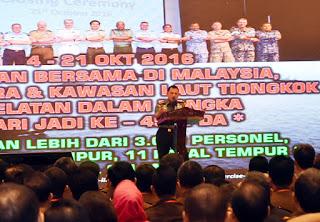 Panglima TNI : TNI - Polri Satu Visi dan Misi Amankan Pilkada Serentak 2017