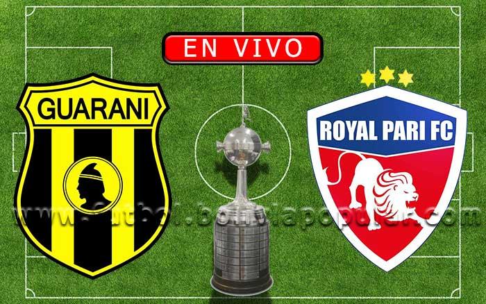 Guaraní vs. Royal Pari - Copa Libertadores 2021