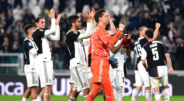 يوفنتوس يحافظ علي صدارتة ويفوز علي ميلان بهدف نظيف في الدوري الايطالي