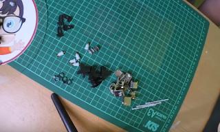 Membuat Miniatur Vespa