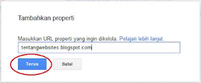 buat google webmaster