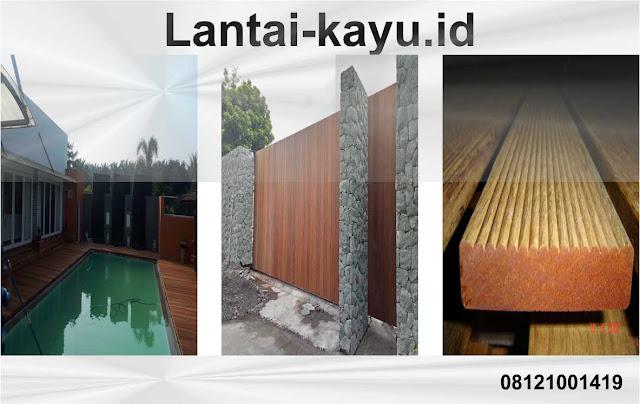 tempat yang menggunakan olahan kayu merbau