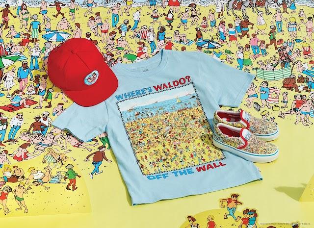 Busca a Wally en la nueva colección de Vans