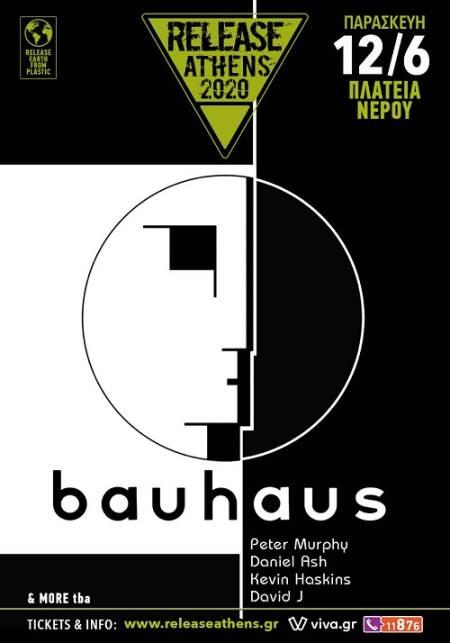 Οι Bauhaus στο Release Athens