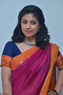 Supriya in Pink Saree Spicy Pics 021.JPG