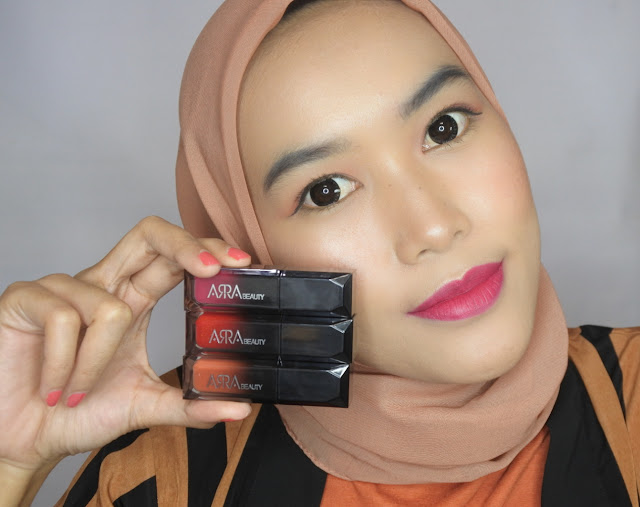 ARRA Beauty Lip Matte Bungo and Soka