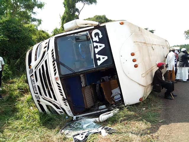 Gaagaa bus involves in another accident in Kiryadongo
