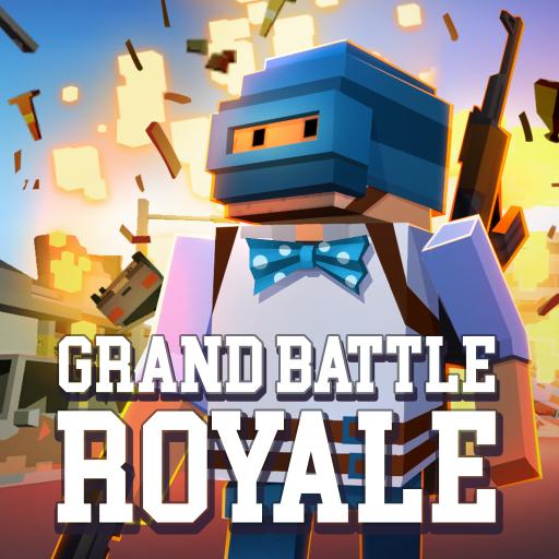 تحميل لعبه Grand Battle Royale: Pixel War مهكره اخر اصدار