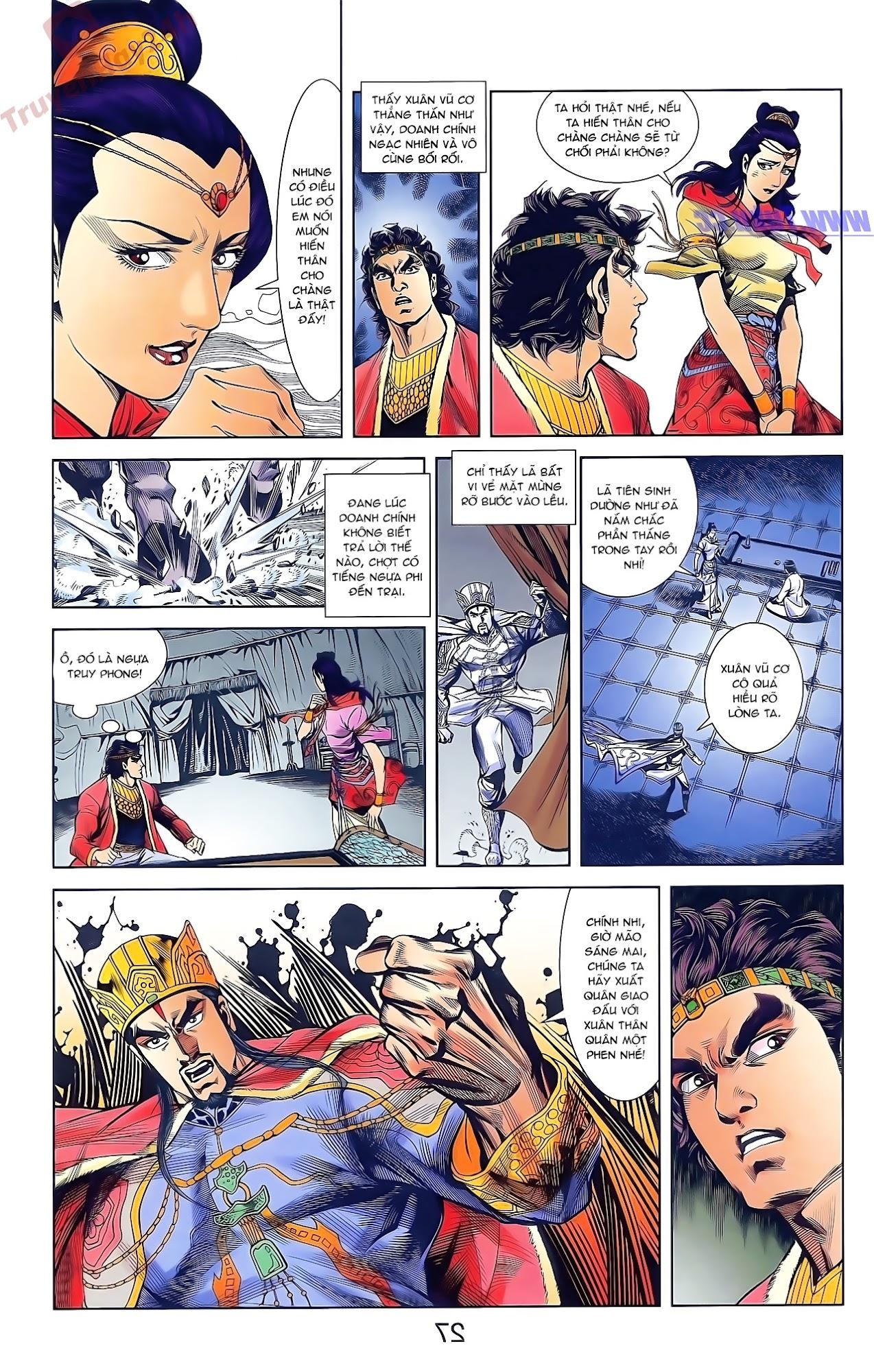 Tần Vương Doanh Chính chapter 48 trang 13