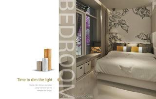 Design Rumah InspiraHaus BSD Master Bedroom