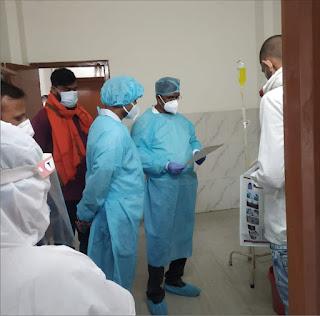 उपजिलाधिकारी ने अस्पतालों का लिया जायजा | #NayaSaberaNetwork